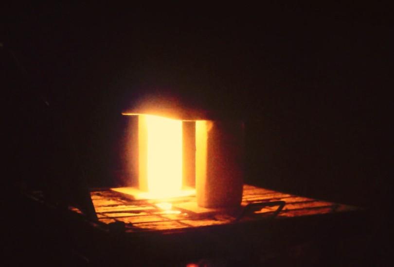 Forno em alta temperatura: morada da transformação.